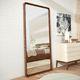 wandmontierter Spiegel / modern / rechteckig / Holz