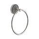 Ring-Handtuchhalter / wandmontiert / aus Chrom / Bronze