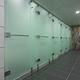 Sanitärkabine für Dusche / für öffentliche Sanitäreinrichtungen / Glas