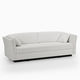 Bettsofa / modern / Stoff / Contract