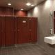 Sanitärkabine für Toilette / für Öffentliche Sanitäreinrichtungen / Laminat / Edelstahl