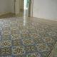 Zementfliese für den Innenraum / Boden / quadratisch / Englischer Stil