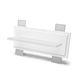 Leuchte für Wandeinbau / LED / linear / IP20