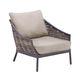 moderner Sessel / Holz / Garten