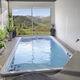 einteiliges Schwimmbecken / erdverlegt / aus Acryl / Objektmöbel