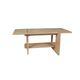 moderner Couchtisch / lackiertes Holz / rechteckig / Innenraum