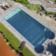 Schwimmbecken / kit komplett / Einbau / Edelstahl / für Hotels