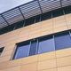 Fassadenverkleidung für hinterlüftete Fassade / Platten / aus Terrakotta / glatt