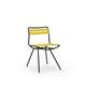 moderner Stuhl / nach Maß / Stahl / Polyester