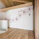 Schiebe-Stapel-Trennwand / Holz / für Privatgebrauch / Dekor