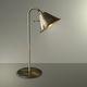 Tischlampe / Metall / klassisch / golden