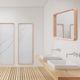 wandmontierter Spiegel / Schlafzimmer / modern / rechteckig
