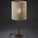 Tischlampe / modern / Holz / Innenraum
