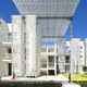 Metall-Sonnenschutzlamelle / für Dächer / für Fassaden / perforiert