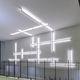 Beleuchtungsprofil für Aufbau / LED / modular / dimmbar