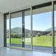 Hebe-Schiebe-Glaswand / Aluminium / Doppelverglasung / wärmeisoliert