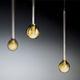Hängelampe / aus Borosilikatglas / modern / LED