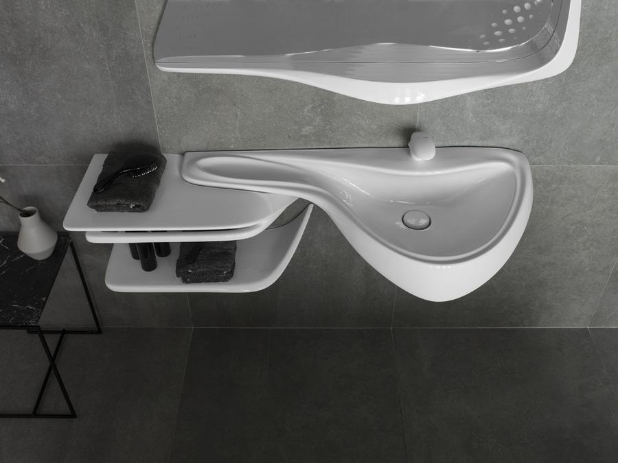 Dieses ist, was die Badezimmer der Zukunft wie mit ...