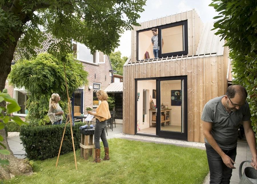 Ein Malendes Studio War Fur Den Hinterhof Des Dieses