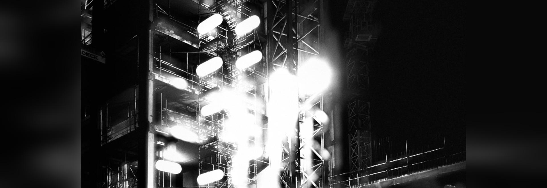 """Abstrakte Fotographie durch Lewis Bush zeichnet die """"konkurrenzfähige Wiederentwicklung"""" von London auf"""