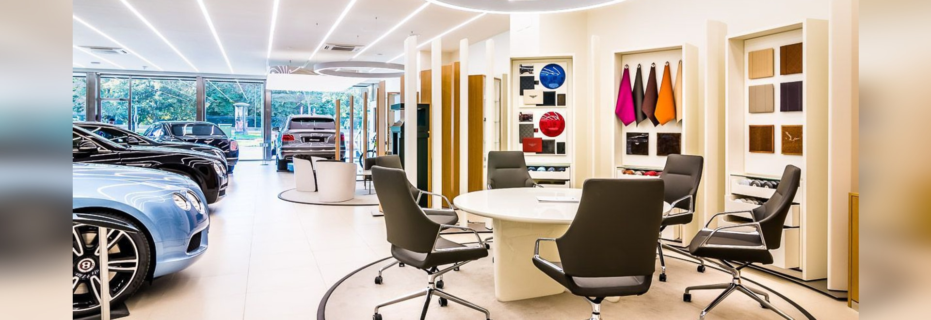 Bentley Showroom Madrid