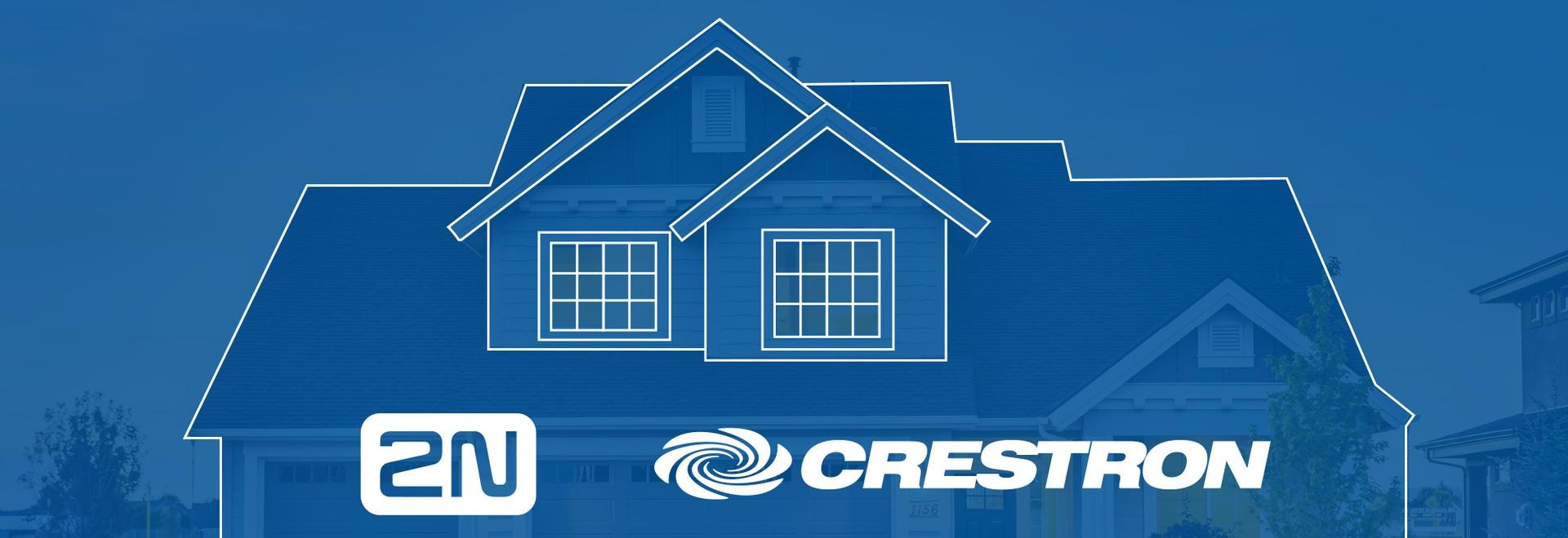 Bieten Sie intelligentes Wohnen an. Bieten Sie 2N und Crestron gemeinsam an.