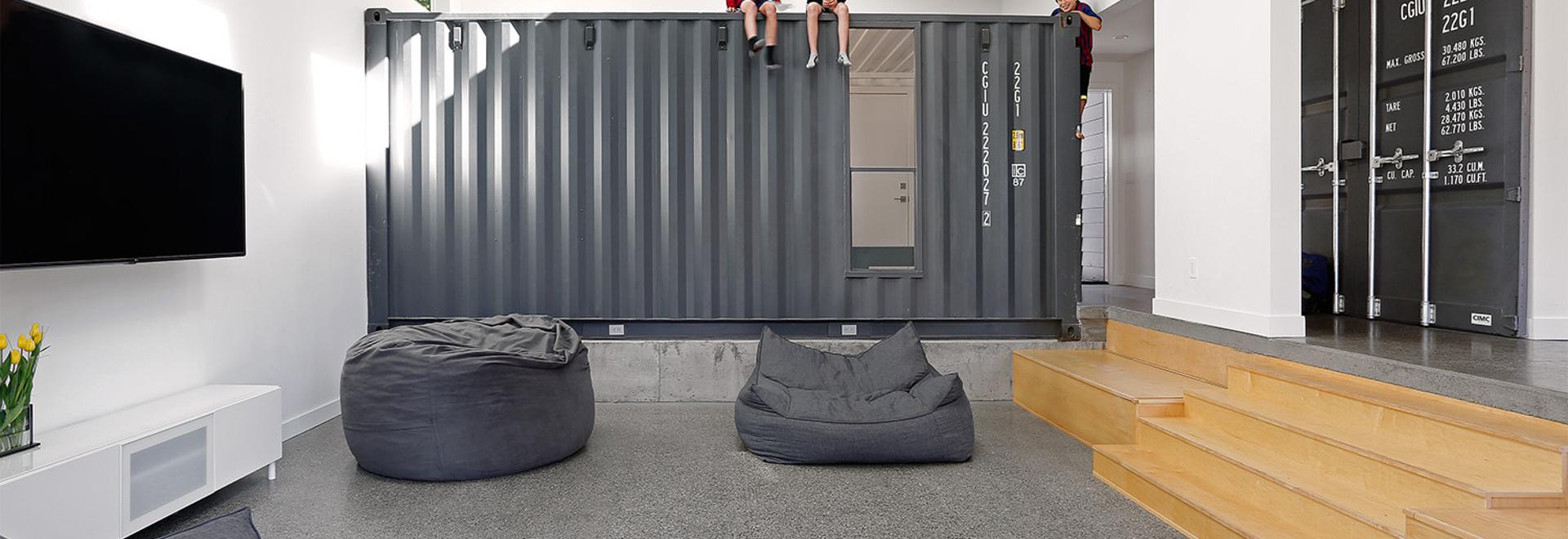 Das Container-Haus der Familie Wyss