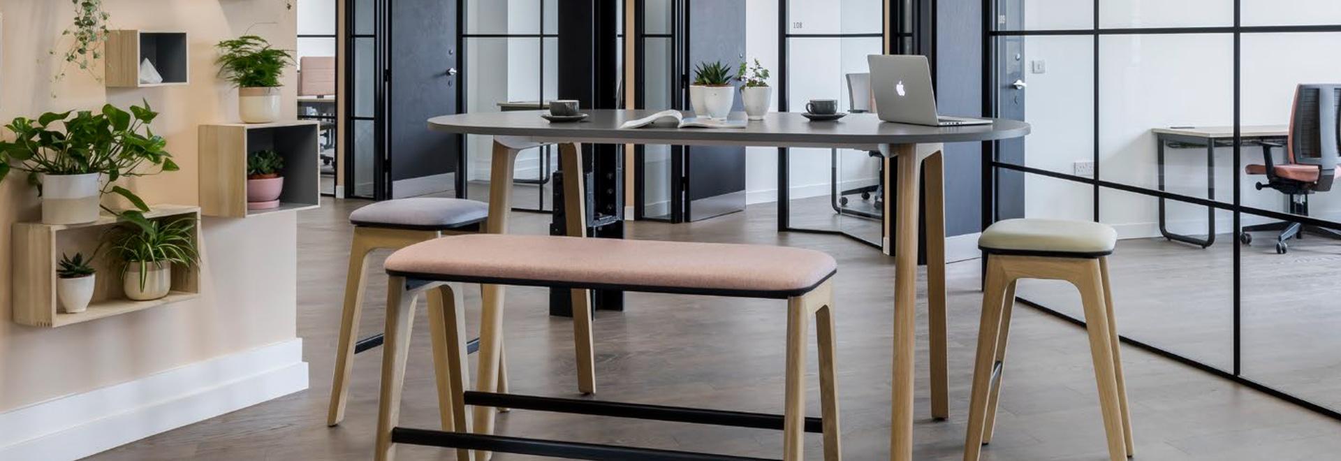 Corporate Office inspiriert durch Zusammenarbeit