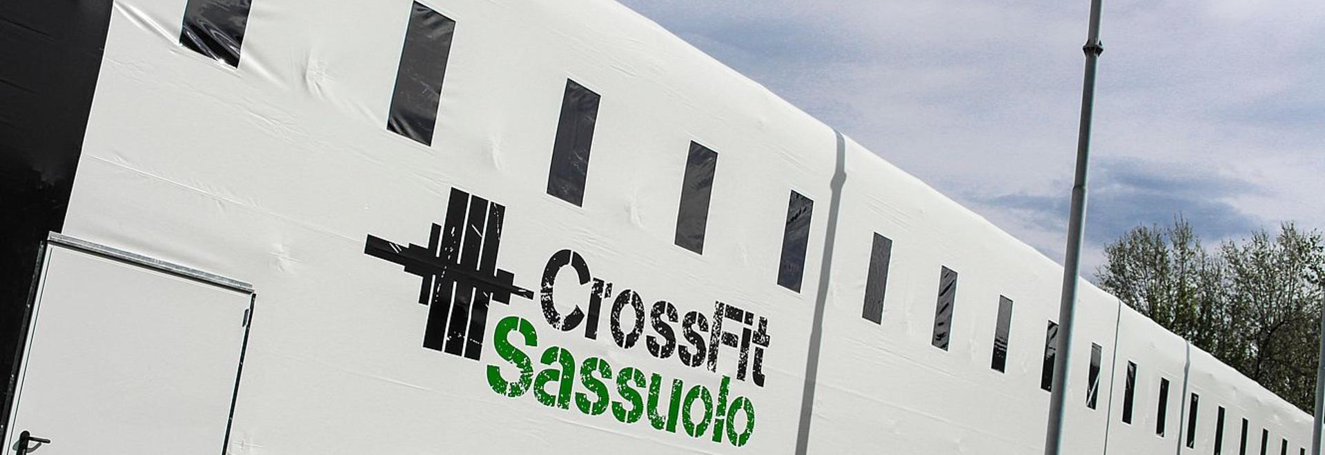 CrossFit Leidenschaft: ein Tunnel Kopron für die erste Temporary Gym in Sassuolo.
