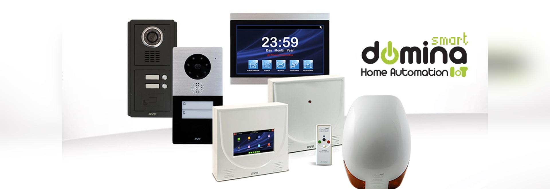 DOMINA Smart: Einbruchschutz und Videosprechanlage, die großen Innovationen des integrierten AVE-Systems