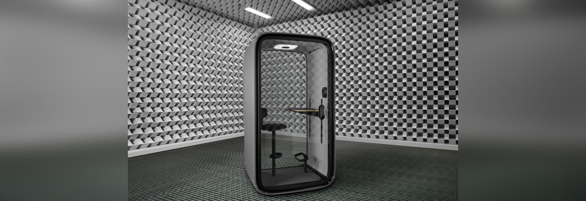 Framery bringt die erste vollständig vernetzte Akustikkabine auf den Markt