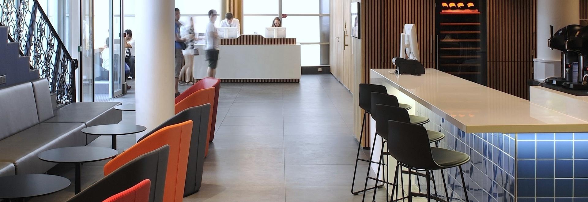 Hotelentwurf - Kyriad Bercy