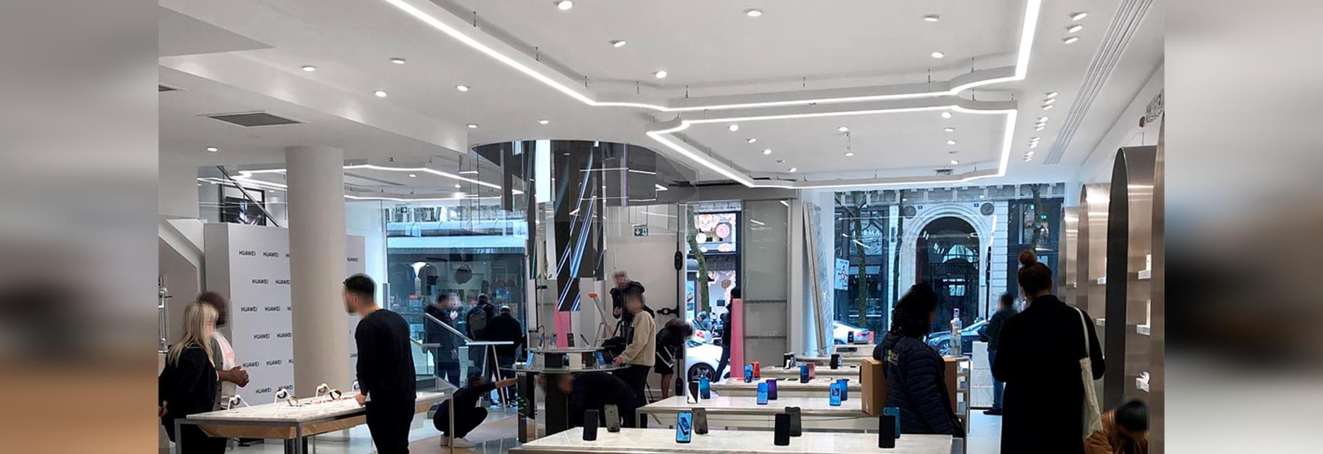 Huawei Flagship Store Pariser Opéra