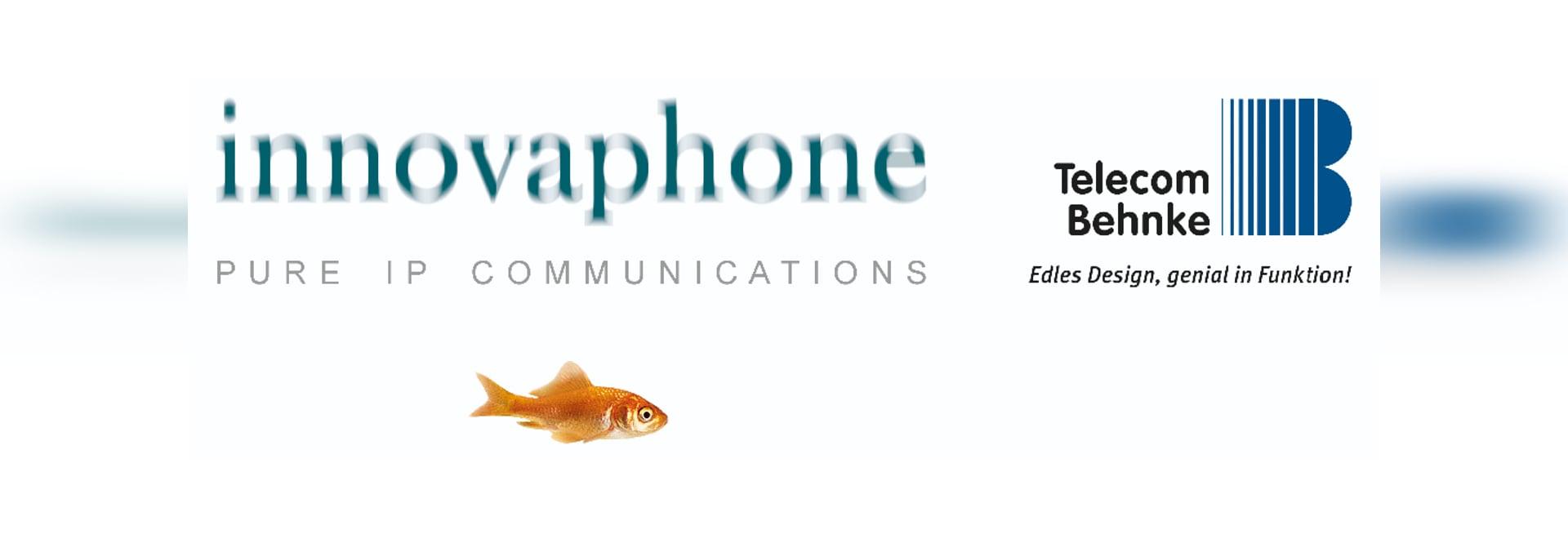 innovaphone und Behnke Logos