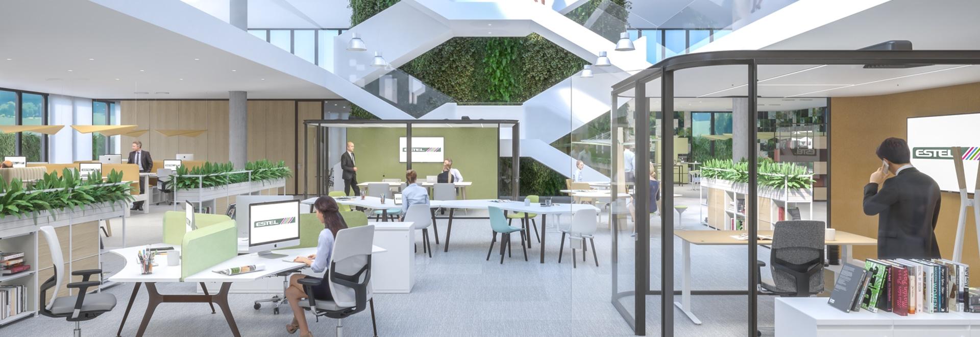 Italienische Smart Office Umgebung