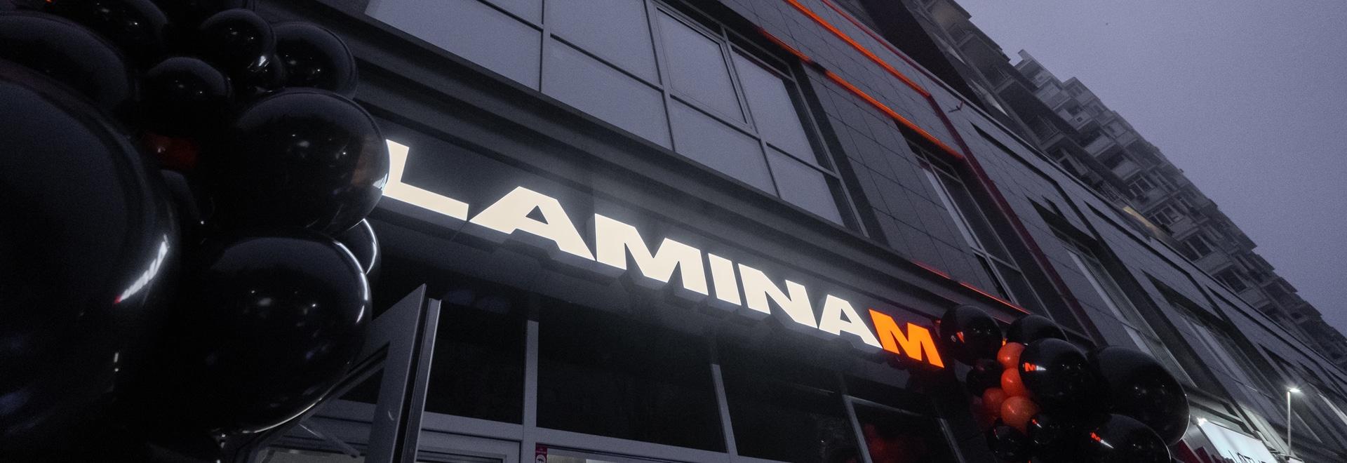 Laminam Showroom in Kiew