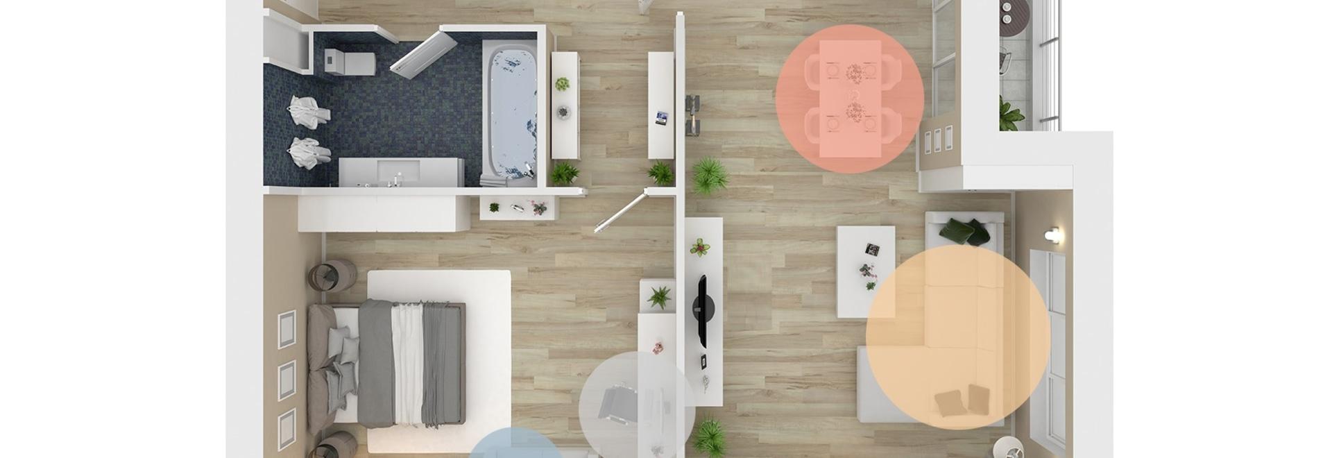#MakeYourSpaceAtHome: Wie können Sie die Work-Life-Balance aufrechterhalten? Teilen Sie Ihr Zuhause in Zonen ein!