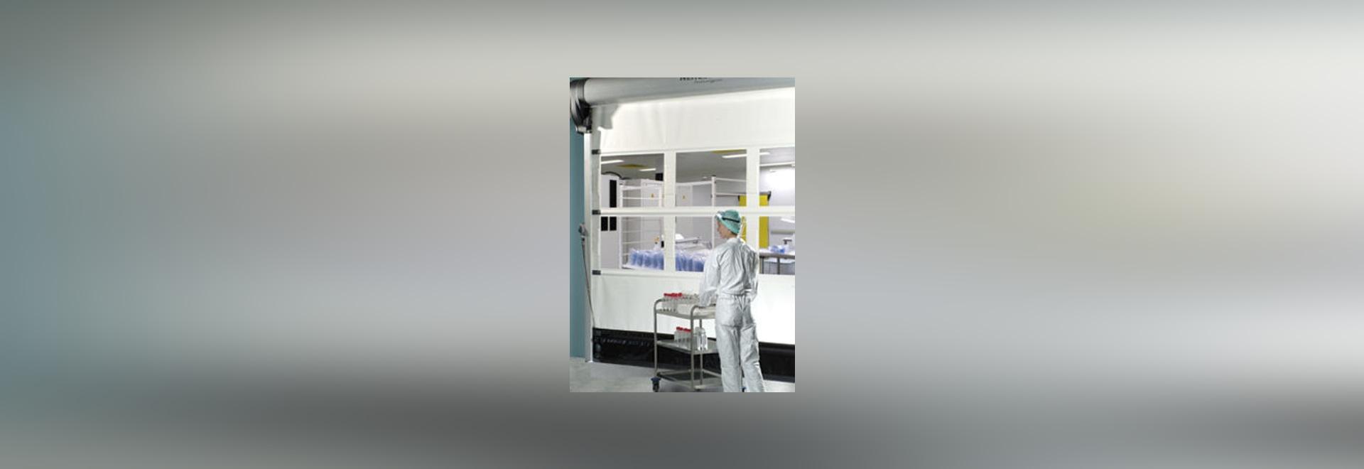 NEU: Roll-Industrietür by NERGECO