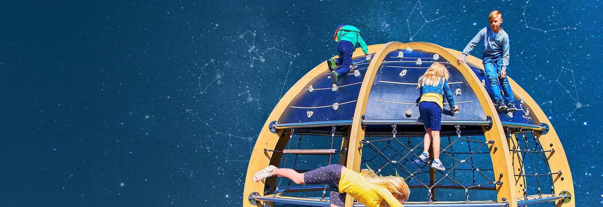 Neu! Spiel-Planetarium ist einzigartigen Spielgeräte und eine Lernumgebung.