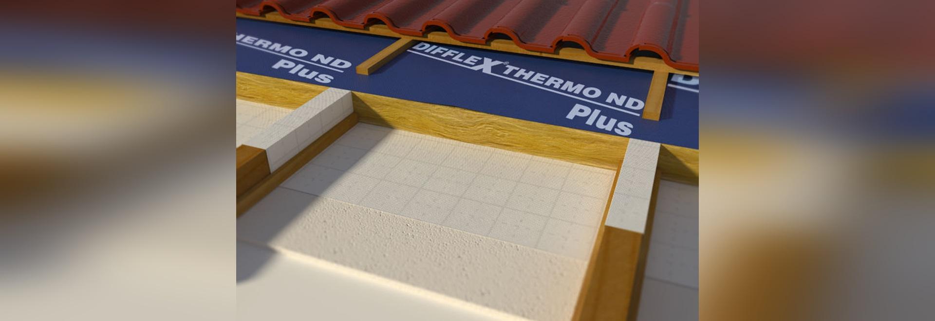 NEU: Unterdach§bahn für belüftetes Dach by BWK Dachzubehör