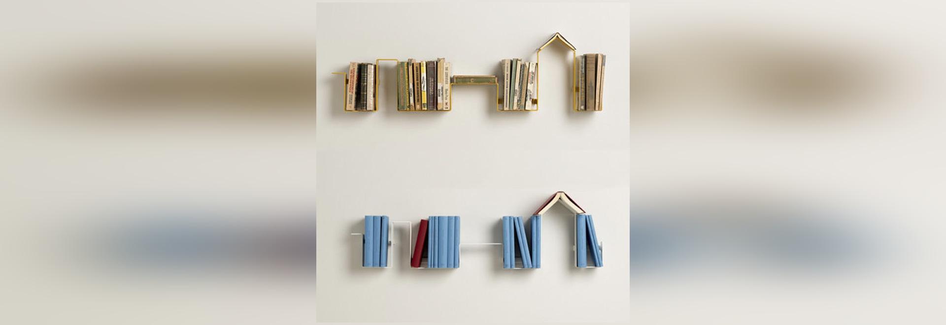 NEU: an der Wand befestigter Bücherschrank durch MINGARDO