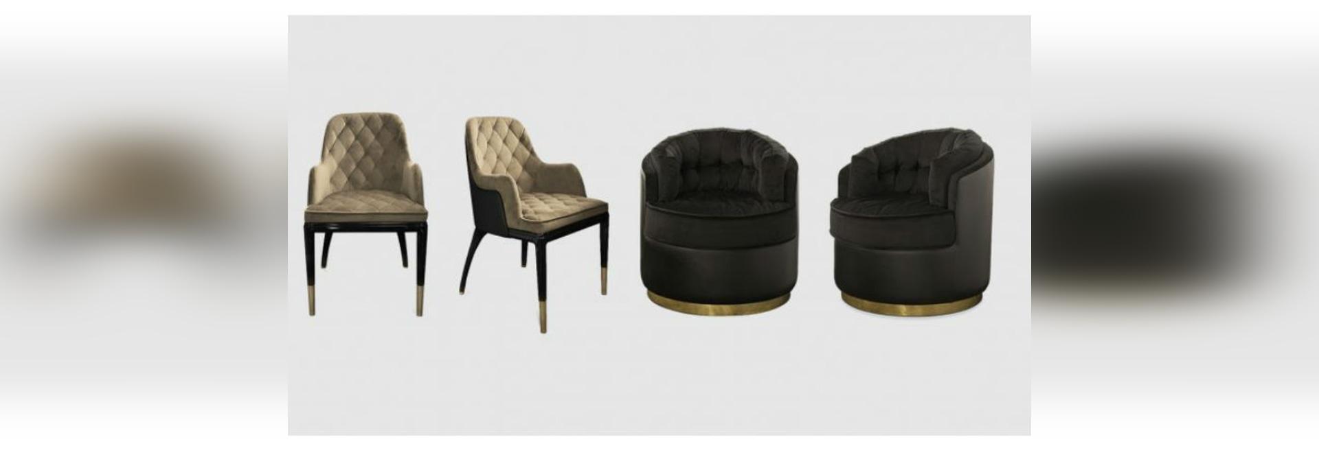 Neue Zusätze Luxxus zur Luxusmöbel-Sammlung umfassen eine erstaunliche Kristallsuspendierung und einen opulenten Samtlehnsessel