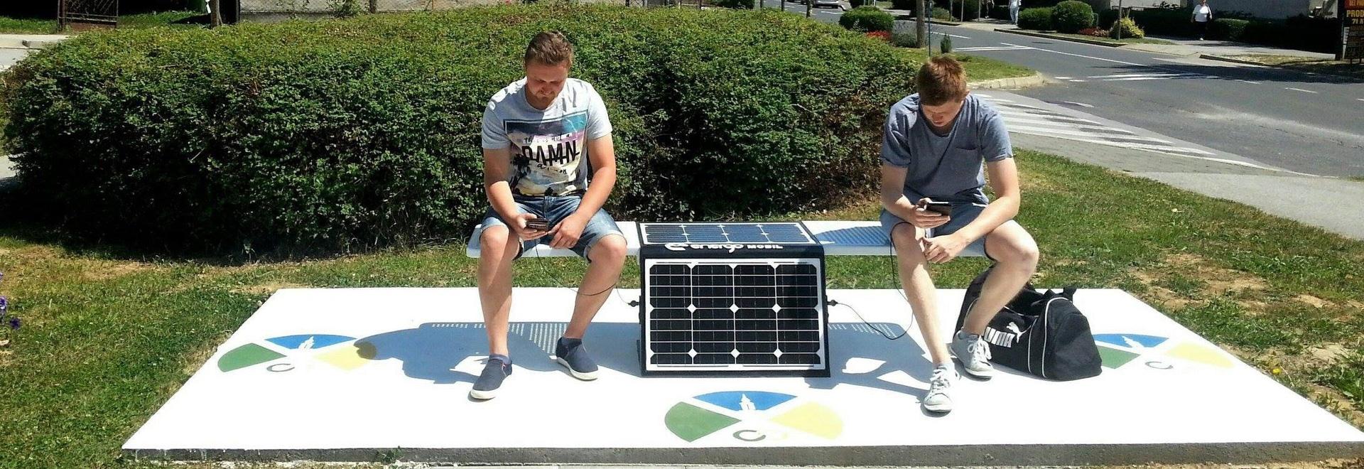 Posušje erhielt die erste Solarbank