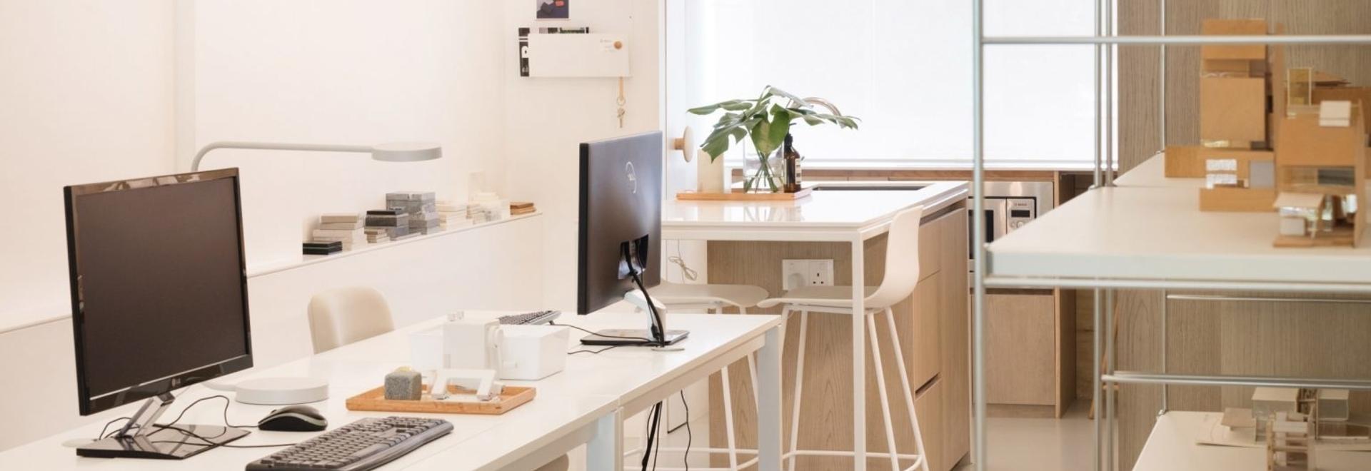 Projekt Nr. 13 ist ein Büro für Studio Wills + Architects, das gleichzeitig als Wohnhaus dient