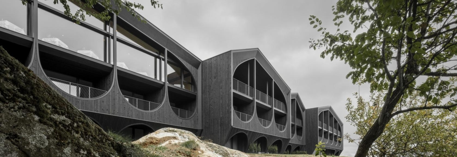 Radikales Südtiroler Hotel definiert die alpine Architektur neu