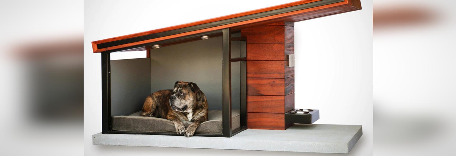 Rah Design verwöhnt Ihren Hund mit MDK9 Hundehaus
