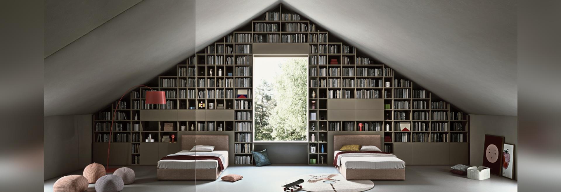 Selecta von Officinadesign Lema - Standardmäßig kundenspezifisch - Dachboden