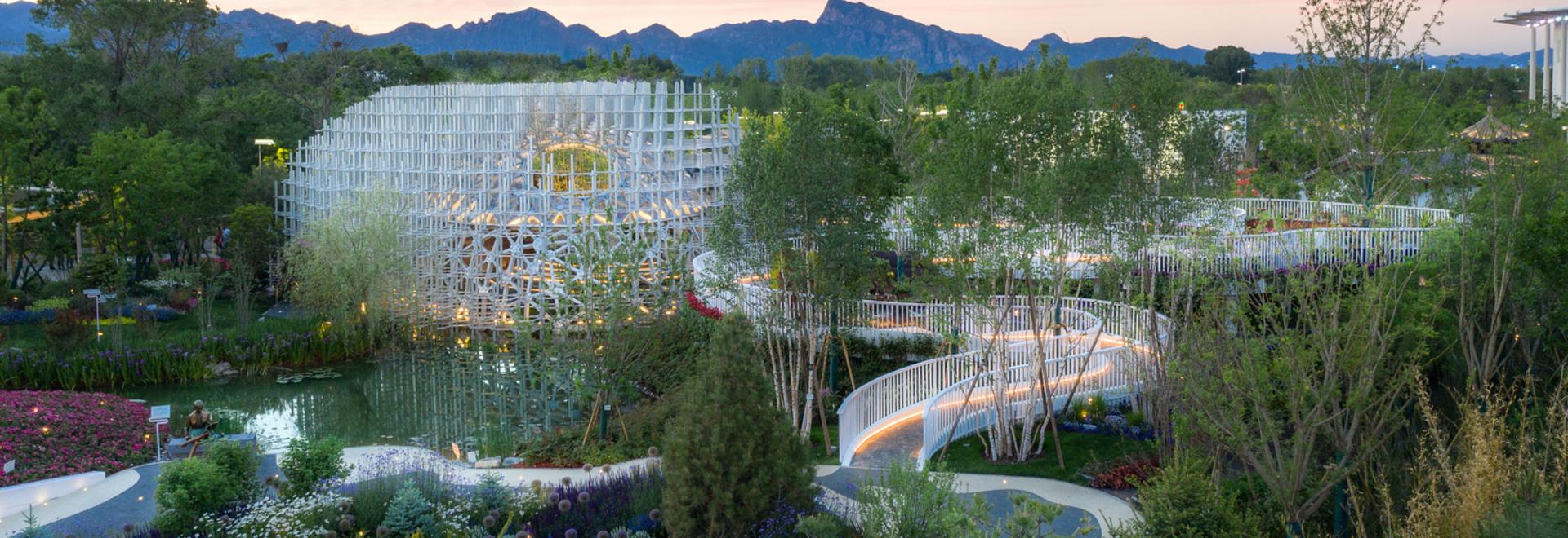 Shanghai Garden, die Beijing Horticultural Exhibition 2019 / Arcplus Architectural Decoration & Landscape Design Research Institute (Forschungsinstitut)