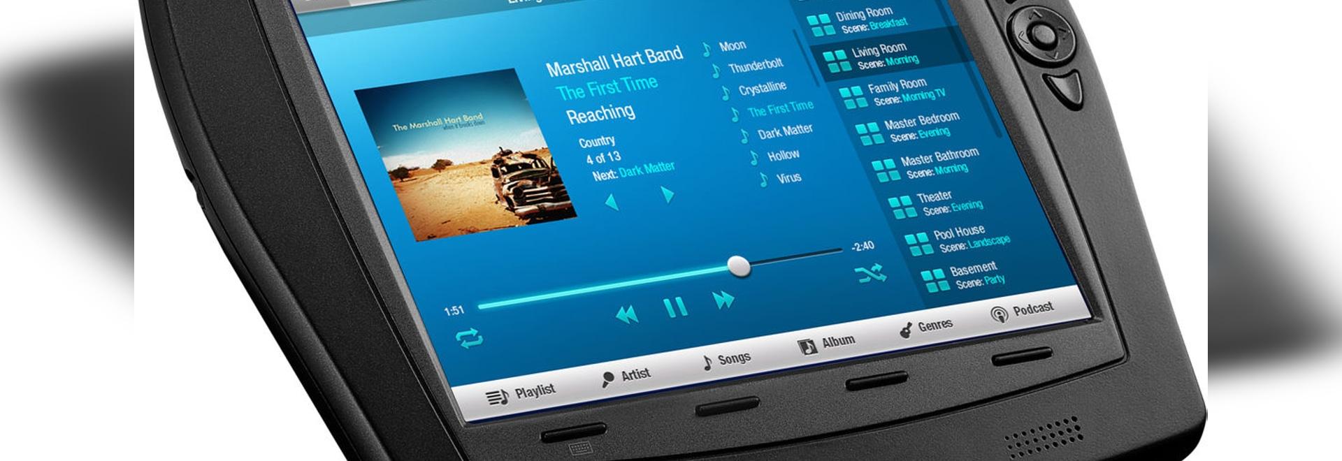 TPMC-8X-GA drahtloser Touch Screen durch CRESTRON