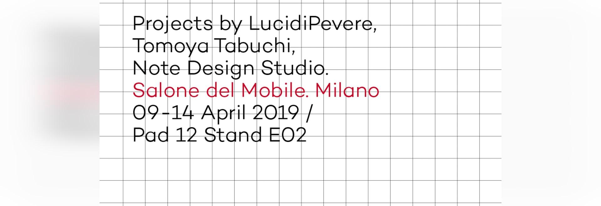 Veranstaltung im Salone del Mobile, Einladung